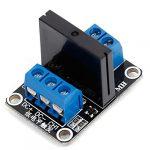 1路5V低電平觸發固態繼電器模組  SSR 固態繼電器 帶保險絲
