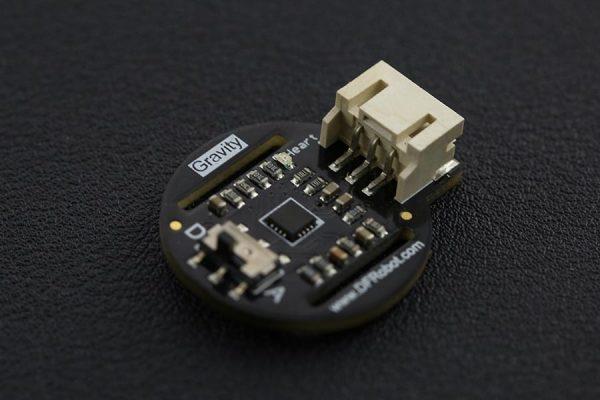 DFRobot 微型心率血氧飽和值感測器 Heart Rate Sensor  類比/數位雙輸出