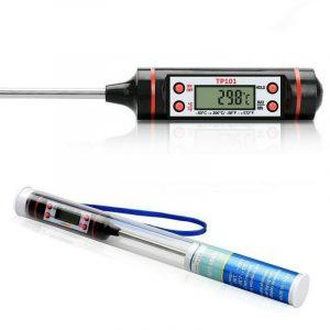 數位高溫測量棒 溫度筆 -50~300度 加長型多用途不鏽鋼高溫 溫度計 耐高溫