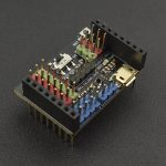 OpenMV Cam M7 專用擴展板 IO Expansion Shield for OpenMV Cam M7