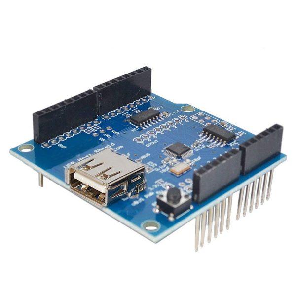 Arduino USB HOST Shield 擴展板 Google Android ADK 支持