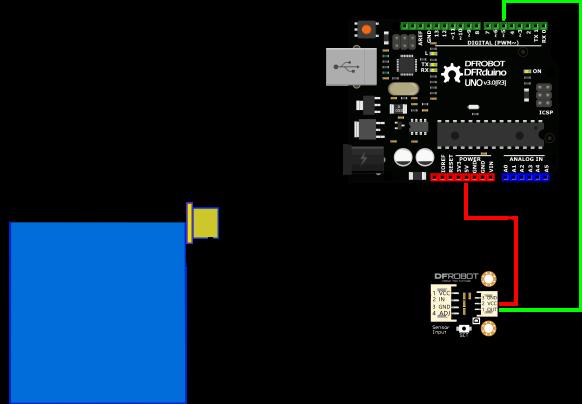 重力:非接觸式Arduino水液位傳感器XKC-Y25-T12V