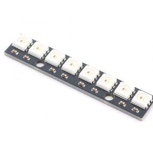 8位 WS2812 5050 RGB LED 全彩驅動彩燈開發板
