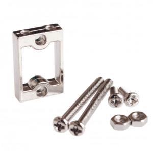 TT 馬達支架 電機架子 減速馬達支架 鋁合金 送螺絲緊固件 ( 2 個一套 )