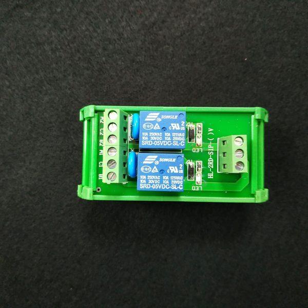 工業用 2路 SONGLE 松樂繼電器模組 工作電壓:5VDC 輸入信號 PNP 高電平觸發 可拆卸