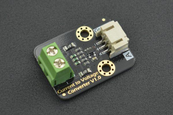 Current to Voltage Converter電流轉電壓傳感器 支援 3.3v ~ 5v 寬電壓高精度 4-20mA  轉電壓
