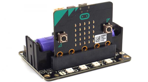 RobotBit – Robot Expansion Board for Micro:bit 擴展板 自帶 18650 電池座