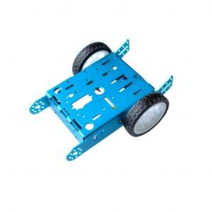 藍色鋁合金 機器人 智能小車 智慧小車底盤套件