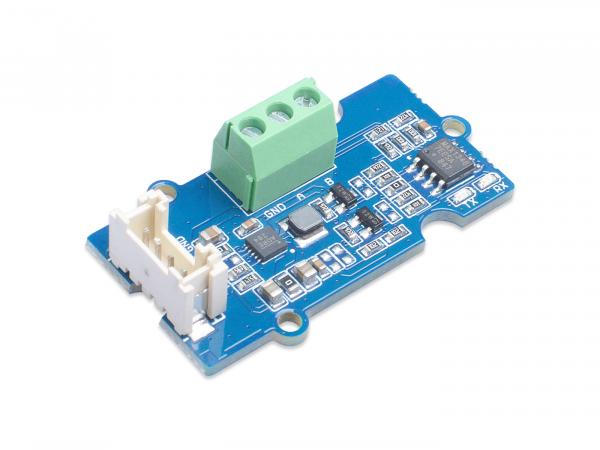 Grove – RS485 模組 串口轉 485  讀取 RS485 與 Modbus RTU 485 工業設備