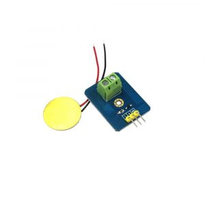 模擬壓電式陶瓷震動感測器 Arduino 振動感測器模組