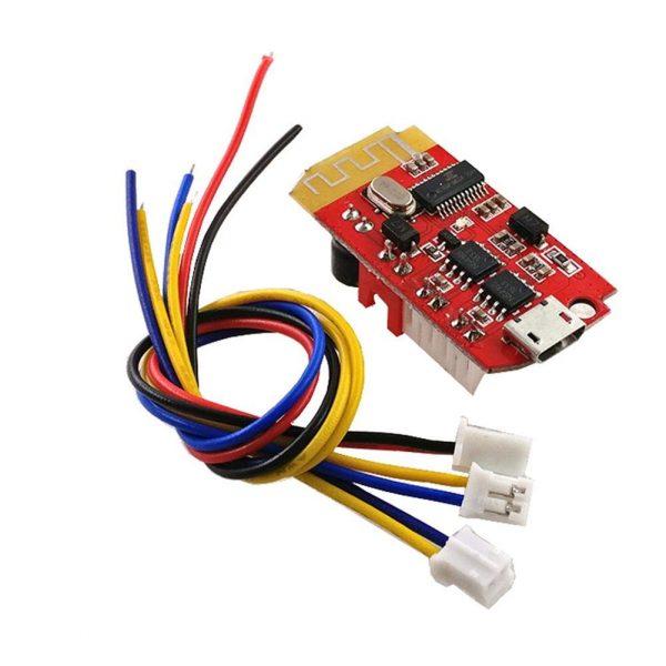 微型藍芽4.2 立體聲藍牙功放板音頻播放模組 F類 帶 5W+5W 輸出 帶充電 DIY 改裝音響神器