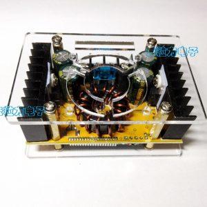 DC-DC直流大功率可調升壓電源模組 恒壓恒流 液晶屏 電壓電流雙顯示