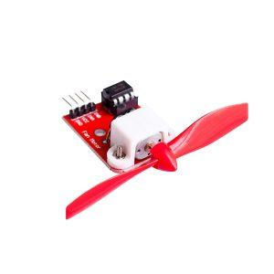 L9110 風扇模組 整合 L9110控制 IC 和馬達 可控制正反轉 不用再接馬達驅動板