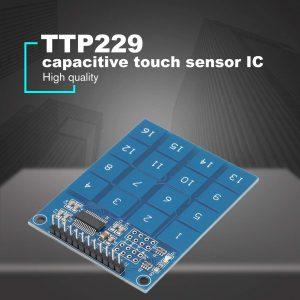 16路 TTP229 電容式觸摸開關 數位觸摸感測器模組