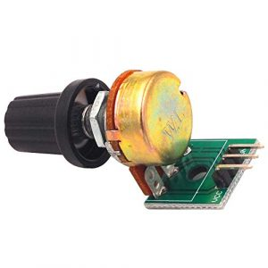 10K 阻值電位器模組  可調電阻模組 單圈可調模擬量輸出0-5V電壓