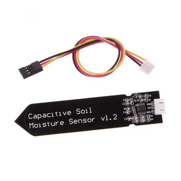 Analog Capacitive Soil Moisture Sensor 電容式土壤濕度感測器 不易腐蝕 寬電壓工作 送線