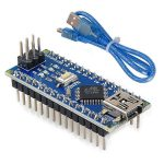Arduino NANO V3.0  原裝 FT232RL 晶片 非大陸 CH340 晶片 附USB線