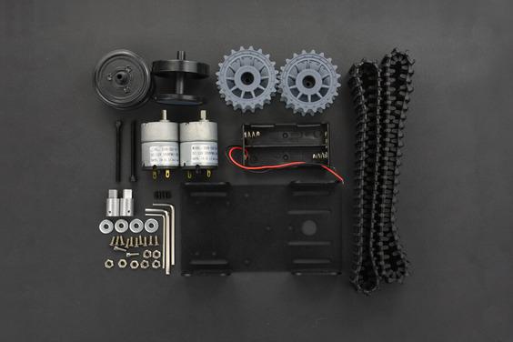 黑豹戰士履帶式小開發底盤套件 戰車開發套件 履帶小車底盤 支援  Arduino 與樹梅派