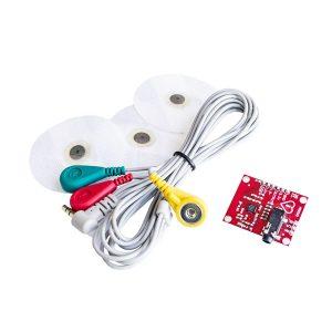 AD8232 心律監測感測器模組 副廠 測量脈搏 ECG Kit 心跳心電感測器