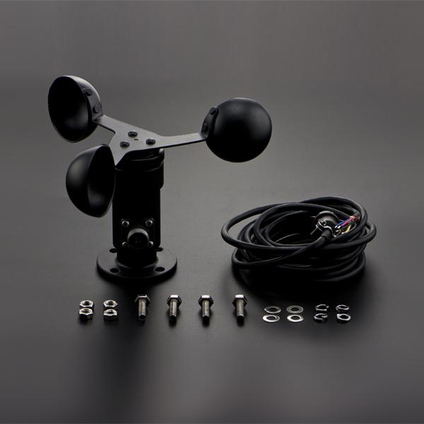 Arduio 風速傳感器電壓型(0-5V)DFrobot 三杯式風速感測器