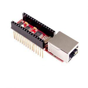Nano ENC28J60 Ethermet shield 乙太網路擴展板 NANO 專用 RJ45 TCP 工業網路模組
