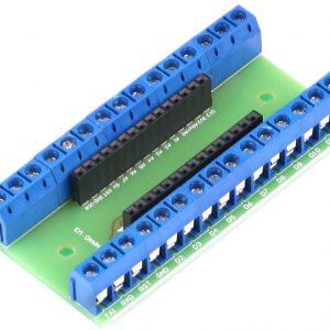 NANO IO 端子擴展板 大板具備 30 個 KF301 接線端子 工控好用