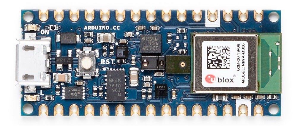 The Arduino Nano 33 BLE Sense. (📷: Arduino)