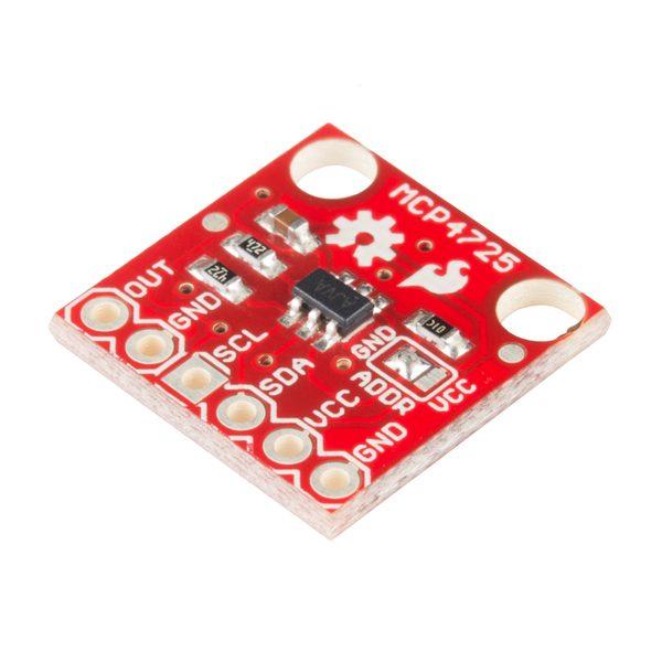 MCP4725 I2C DAC 12位分辨率 模組  SparkFun 原裝進口