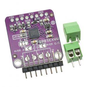 MAX31865 鉑電阻溫度感測模組 RTD 感測器 / PT100