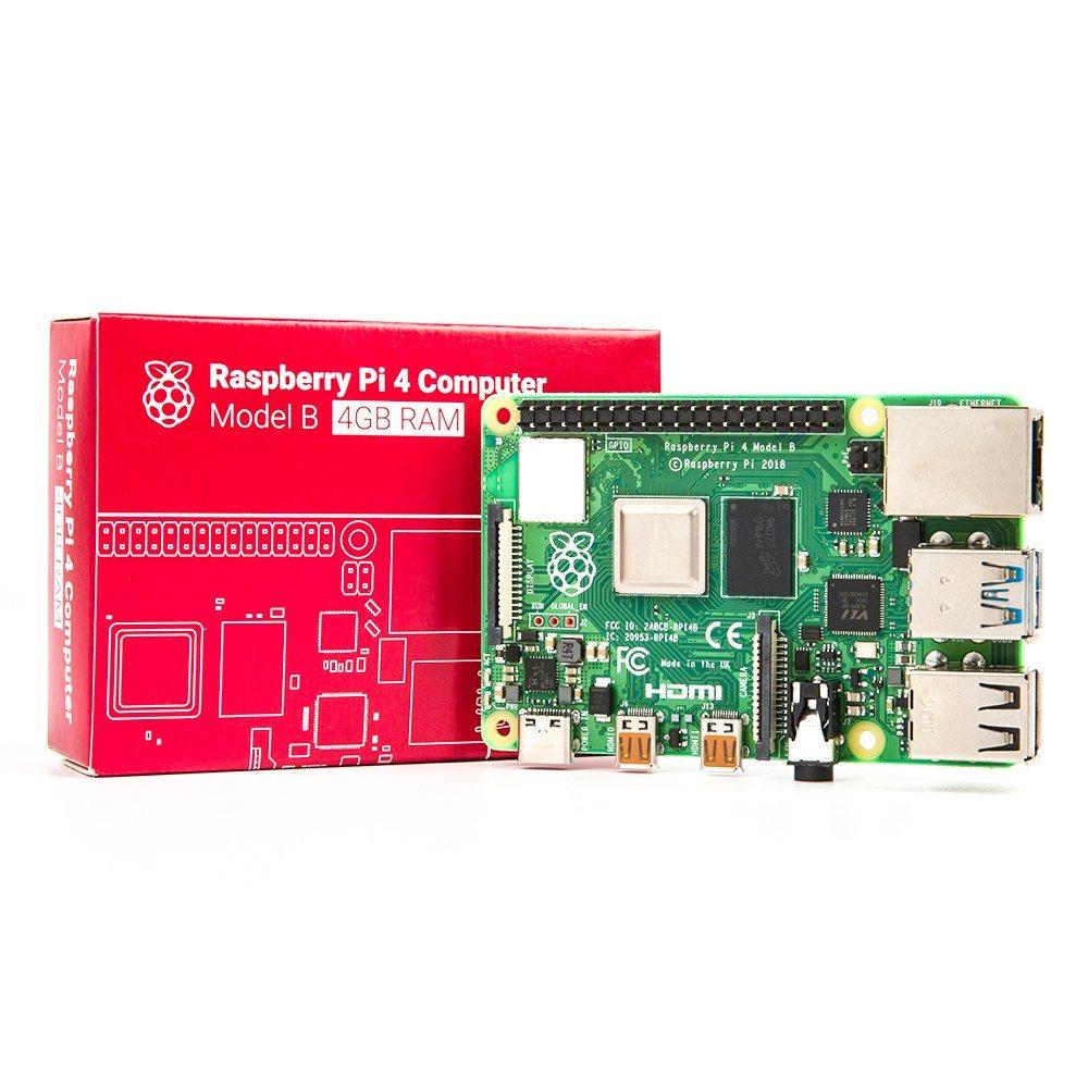 Raspberry Pi 4 Model B - 4GB 樹莓派