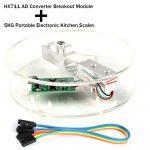 5KG 電子秤開發套件 HX711 + 5kg 壓力感測器套裝