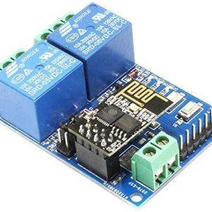 5V ESP8266 二路 WiFi 繼電器模組