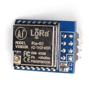 安信可 SX1278 LoRa 擴頻無線模組 / 433MHz / SPI接口 / Ra-02 / SPI 直插已焊接針腳