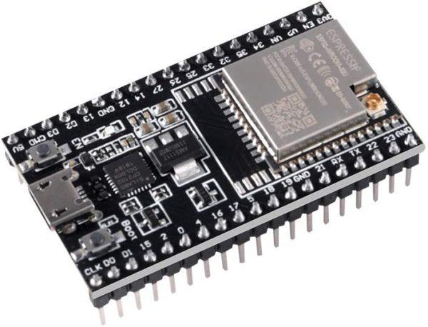 ESP32-DevKitC Espressif Systems 樂鑫原廠 WROOM-32U 開發板 ESP32-D0WD 外部天線