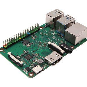 ROCK Pi 4 Model A 4GB 單板電腦 六核ARM處理器 內置RK3399