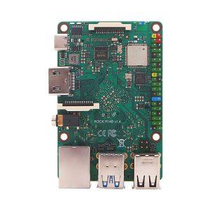 ROCK Pi 4 Model B 4GB 單板電腦 六核ARM處理器  RK3399  WIFI 藍牙5.0