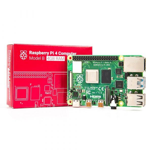 Raspberry Pi 4 Model B – 4GB  樹莓派第 4 代 單板電腦