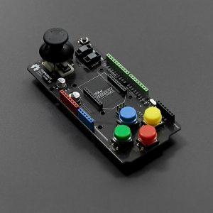 Arduino 多功能輸入控制擴展板 兩軸搖桿 四個按鈕 Xbee 擴展接口