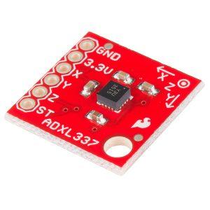 ADXL337 三軸加速度計模組 SparkFun 原裝進口 300 µA 低功耗