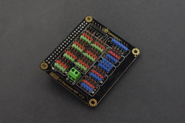 樹莓派 4 代 IO 擴展板 IO Expansion HAT for Raspberry Pi 4B/3B+