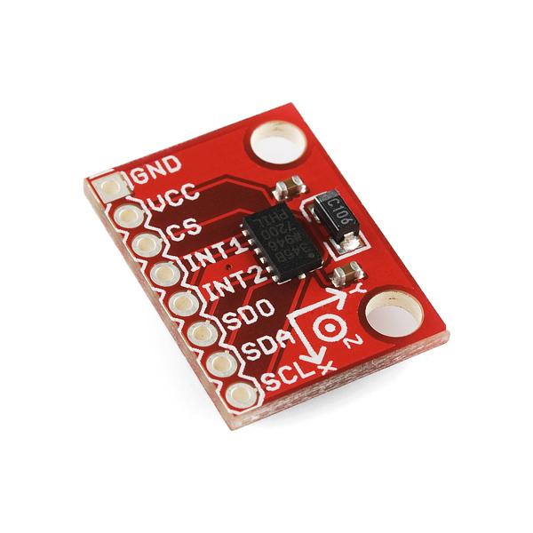 SparkFun Triple Axis Accelerometer Breakout - ADXL345 三軸加速度計模組