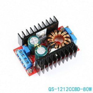 80W 自動升降壓恒流恒壓電源模組 9-35轉1-35V 12V24V 車載穩壓充電模組 恆流恆壓