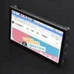 5吋 800×480 TFT樹莓派電容式觸控式螢幕(DSI介面) 5點電容觸控 支援全系列 樹莓派 主板
