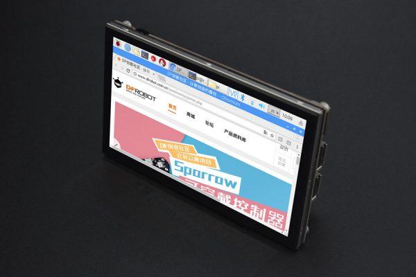5吋 800x480 TFT樹莓派電容式觸控式螢幕(DSI介面) 5點電容觸控 支援全系列 樹莓派 主板