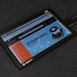10.1 吋 IPS 800×1280 mini-hdmi 樹莓派 高清液晶螢幕 支援樹莓派 4 與 windows