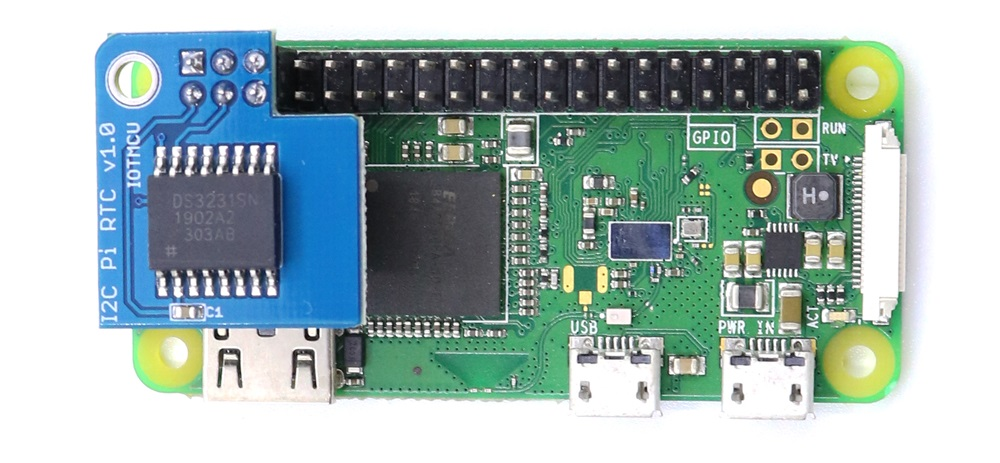 Raspberry Pi 樹莓派專用 DS3231高精度 RTC 時鐘模組