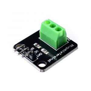 Arduino DS18B20 温度感測器快接板 免焊接免焊電阻
