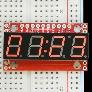 SPI 或I2C 控制顯示
