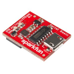 SparkFun Serial Basic Breakout  CH340G 晶片 / USB 轉串口模組