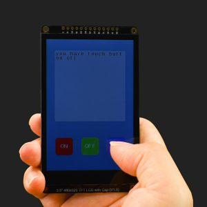 "Arduino 3.5"" 吋 480x320  IPS 彩色電阻式觸控顯示模組  支援 UNO、Leonardo、ESP32、ESP8266、FireBeetle M0"